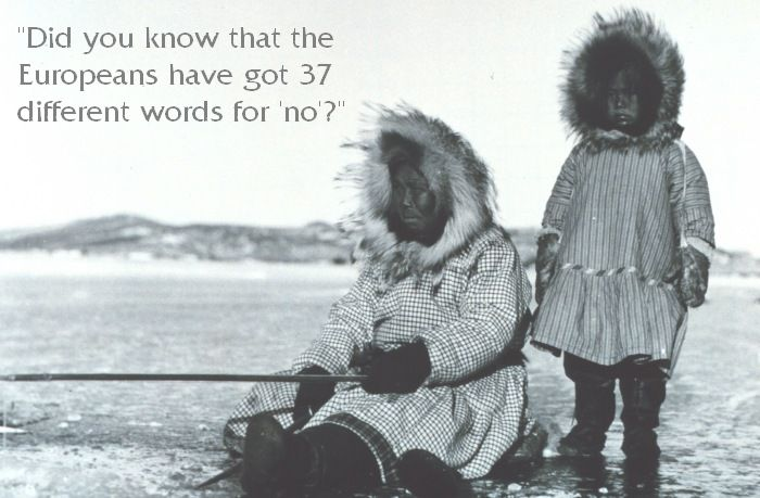 Words for snow nunawhaa