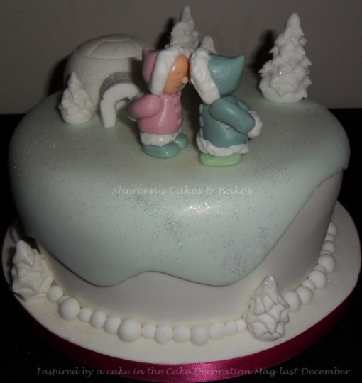 Eskimo Kiss Cake
