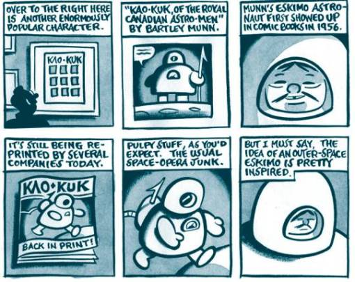 Great-Northern-Brotherhood-of-Canadian-Cartoonists-Kao-Kuk-inuit-astronaut-Seth