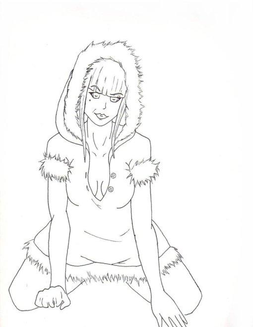 sexy_eskimo_by_holliguado-d4m7vem