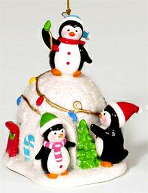 ornament_penguin_igloo_j0489