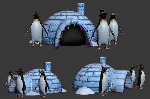 penguin_igloo_by_xaldan-d5oi6s1