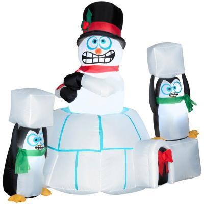 shaking-snowman-igloo