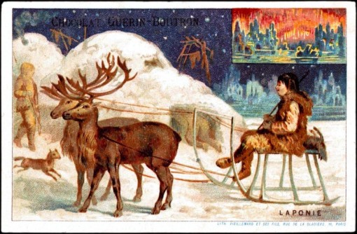 Art-Advertisement-Chocolat-Guerin-Boutron-Eskimos-with-reindeer-sled-780x511