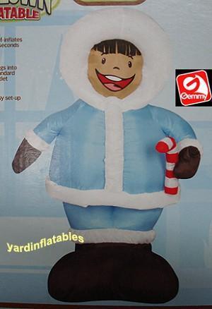 inflatable eskimo
