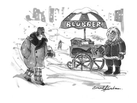 bernard-schoenbaum-a-man-sees-an-eskimo-selling-blubber-from-an-ice-cream-cart-in-the-street-new-yorker-cartoon
