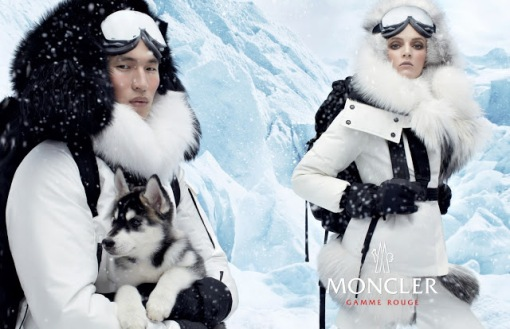 Daria Strokous & Jae Yoo by Steven Meisel (Moncler Gamme Rouge Fall 2013) 2