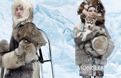 Daria Strokous & Jae Yoo by Steven Meisel (Moncler Gamme Rouge Fall 2013) 3