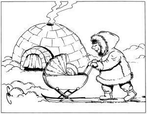 Eskimo-pram