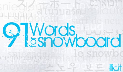 91-words-for-snowboard